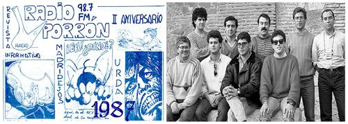1985-1987 La primera emisora en Madridejos RADÍO PORRÓN